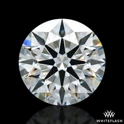 0.703 ct E VS2 A CUT ABOVE® Hearts and Arrows Super Ideal Round Cut Loose Diamond
