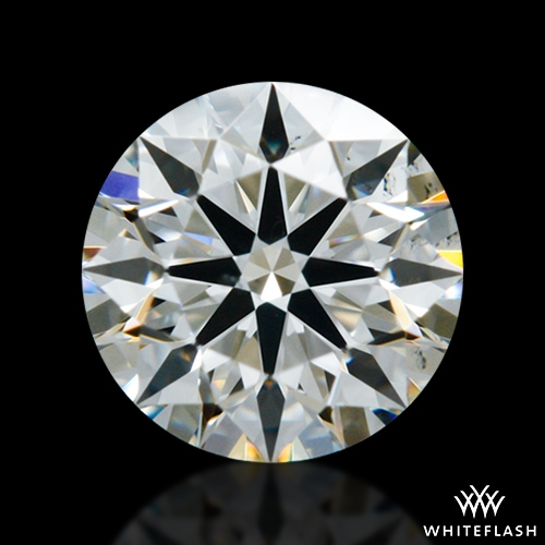 0.416 ct H SI1 A CUT ABOVE® Hearts and Arrows Super Ideal Round Cut Loose Diamond