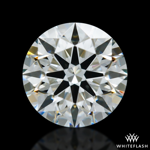 0.407 ct H VS2 A CUT ABOVE® Hearts and Arrows Super Ideal Round Cut Loose Diamond