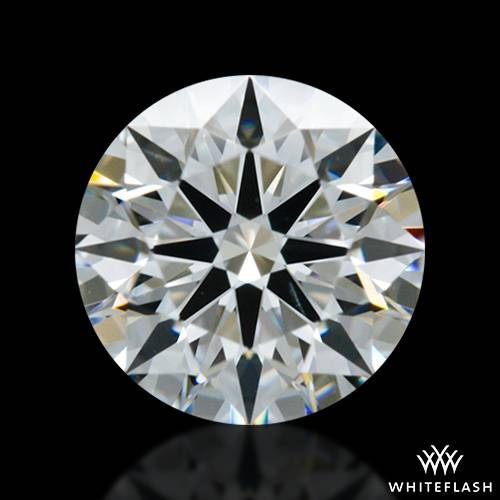 0.58 ct G VS2 A CUT ABOVE® Hearts and Arrows Super Ideal Round Cut Loose Diamond