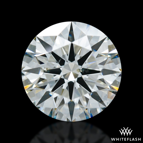0.797 ct I SI1 A CUT ABOVE® Hearts and Arrows Super Ideal Round Cut Loose Diamond
