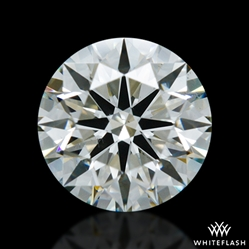 0.824 ct K SI1 A CUT ABOVE® Hearts and Arrows Super Ideal Round Cut Loose Diamond