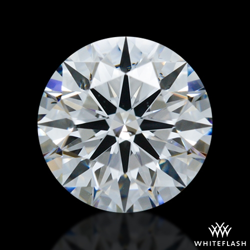 0.832 ct E SI1 A CUT ABOVE® Hearts and Arrows Super Ideal Round Cut Loose Diamond
