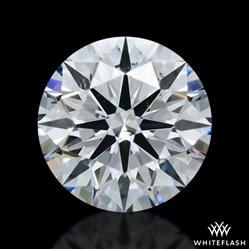 0.832 ct E SI1 A CUT ABOVE® Hearts and Arrows Super Ideal Round Cut Loose Diamond