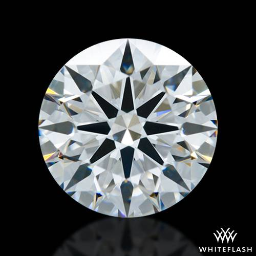 1.535 ct F VS1 A CUT ABOVE® Hearts and Arrows Super Ideal Round Cut Loose Diamond