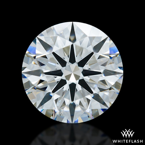 2.177 ct H SI1 A CUT ABOVE® Hearts and Arrows Super Ideal Round Cut Loose Diamond
