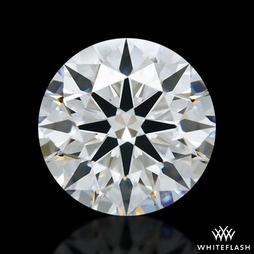 1.247 ct F VS1 A CUT ABOVE® Hearts and Arrows Super Ideal Round Cut Loose Diamond