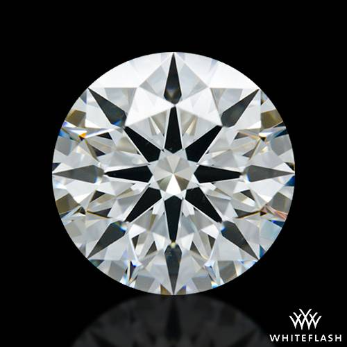 2.126 ct H VS2 A CUT ABOVE® Hearts and Arrows Super Ideal Round Cut Loose Diamond