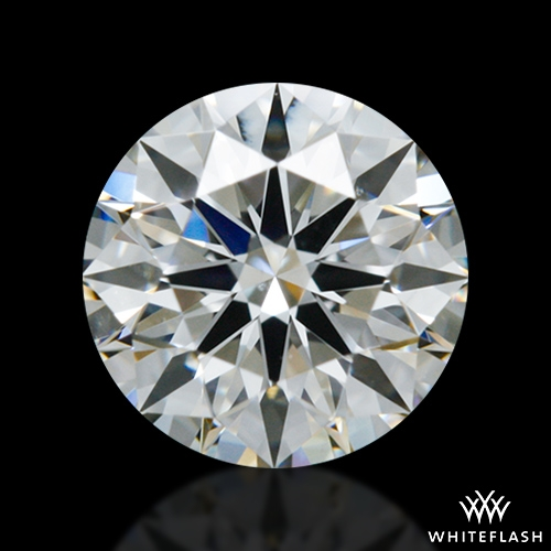 0.58 ct H SI1 A CUT ABOVE® Hearts and Arrows Super Ideal Round Cut Loose Diamond