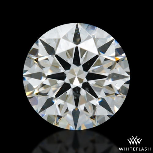 0.592 ct H SI1 A CUT ABOVE® Hearts and Arrows Super Ideal Round Cut Loose Diamond
