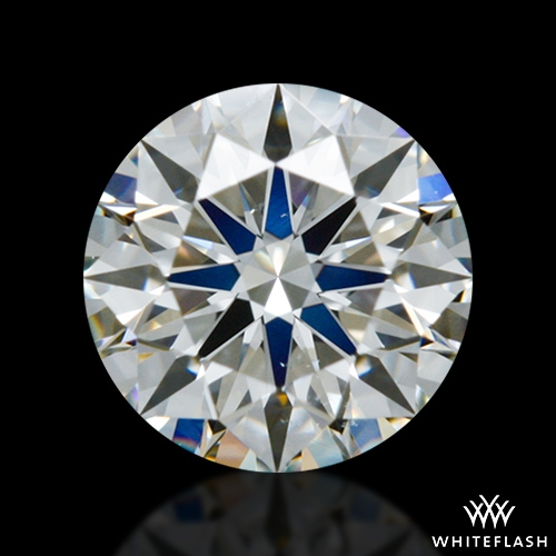 0.512 ct I VS2 A CUT ABOVE® Hearts and Arrows Super Ideal Round Cut Loose Diamond