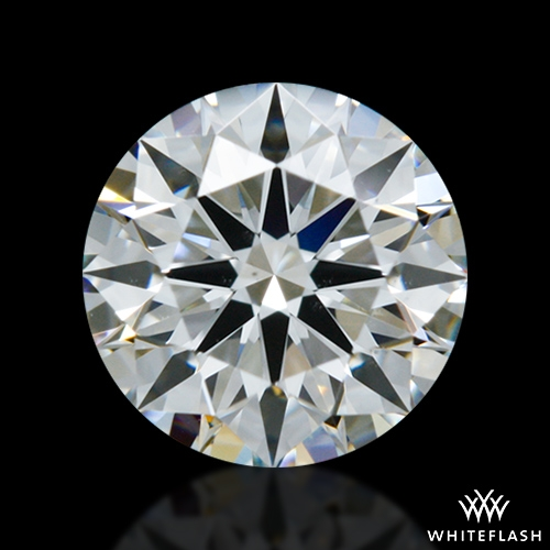 0.615 ct G VS2 A CUT ABOVE® Hearts and Arrows Super Ideal Round Cut Loose Diamond