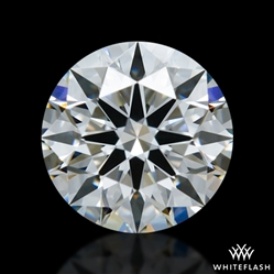 0.624 ct F VS1 A CUT ABOVE® Hearts and Arrows Super Ideal Round Cut Loose Diamond