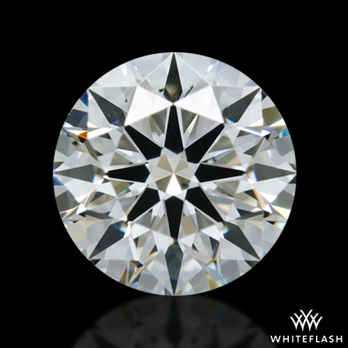 0.557 ct I VS2 A CUT ABOVE® Hearts and Arrows Super Ideal Round Cut Loose Diamond