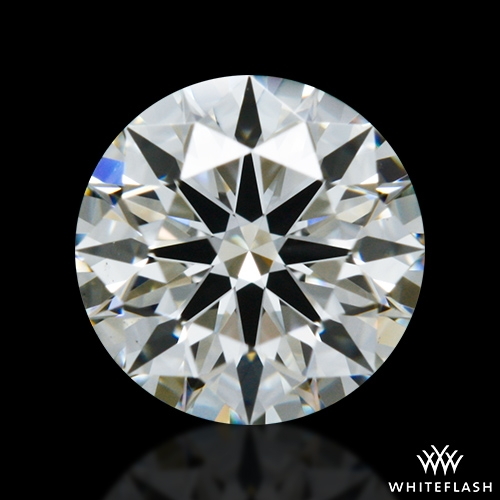 0.536 ct J VS2 A CUT ABOVE® Hearts and Arrows Super Ideal Round Cut Loose Diamond
