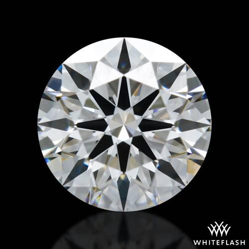 0.738 ct E VS1 A CUT ABOVE® Hearts and Arrows Super Ideal Round Cut Loose Diamond