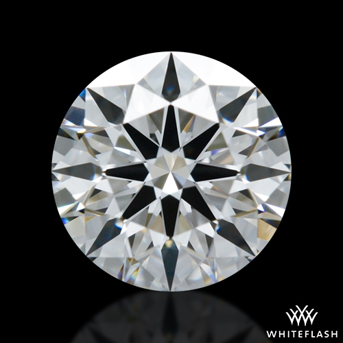 0.738 ct E VS1 A CUT ABOVE® Hearts and Arrows Super Ideal Round Cut Loose Diamond