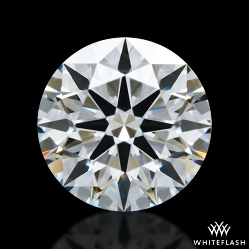 0.606 ct F VVS2 A CUT ABOVE® Hearts and Arrows Super Ideal Round Cut Loose Diamond