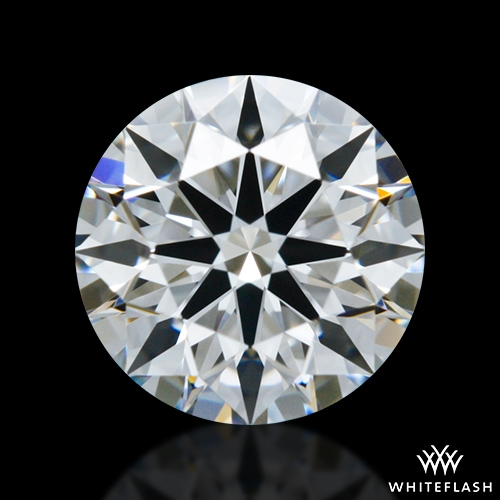 0.645 ct F VVS2 A CUT ABOVE® Hearts and Arrows Super Ideal Round Cut Loose Diamond