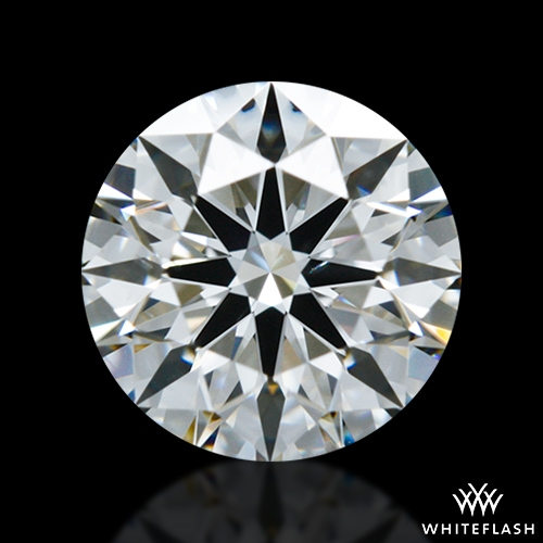 0.798 ct G SI1 A CUT ABOVE® Hearts and Arrows Super Ideal Round Cut Loose Diamond
