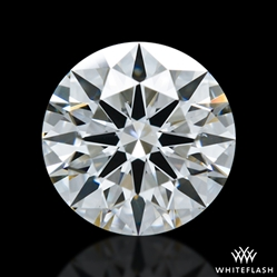 0.946 ct F VS2 A CUT ABOVE® Hearts and Arrows Super Ideal Round Cut Loose Diamond
