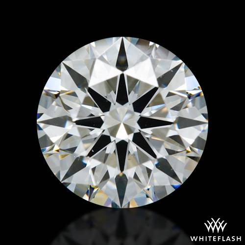 1.094 ct G VS2 A CUT ABOVE® Hearts and Arrows Super Ideal Round Cut Loose Diamond