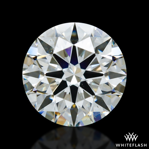 0.947 ct H SI1 A CUT ABOVE® Hearts and Arrows Super Ideal Round Cut Loose Diamond