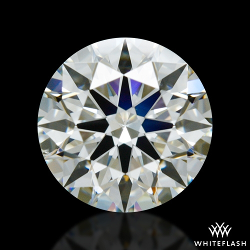 0.968 ct J SI1 A CUT ABOVE® Hearts and Arrows Super Ideal Round Cut Loose Diamond