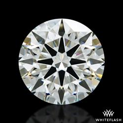1.41 ct I VVS2 A CUT ABOVE® Hearts and Arrows Super Ideal Round Cut Loose Diamond