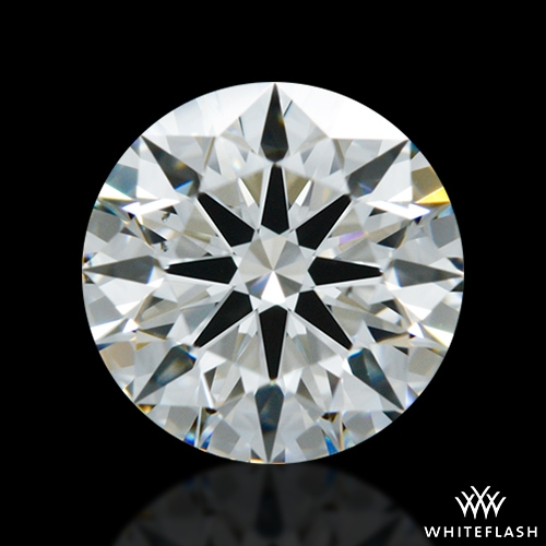 0.802 ct G VS2 A CUT ABOVE® Hearts and Arrows Super Ideal Round Cut Loose Diamond