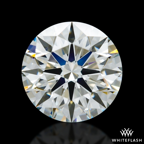 0.922 ct H VS1 A CUT ABOVE® Hearts and Arrows Super Ideal Round Cut Loose Diamond