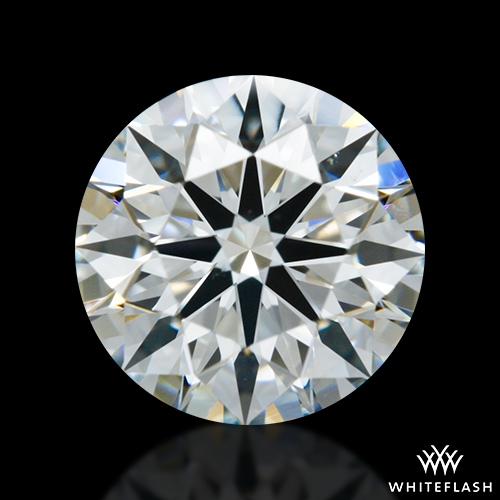 0.963 ct G VS2 A CUT ABOVE® Hearts and Arrows Super Ideal Round Cut Loose Diamond