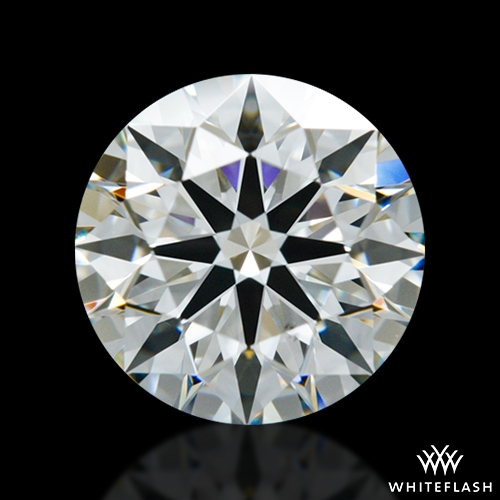 1.013 ct I VS2 A CUT ABOVE® Hearts and Arrows Super Ideal Round Cut Loose Diamond