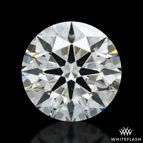 1.021 ct H VS1 A CUT ABOVE® Hearts and Arrows Super Ideal Round Cut Loose Diamond