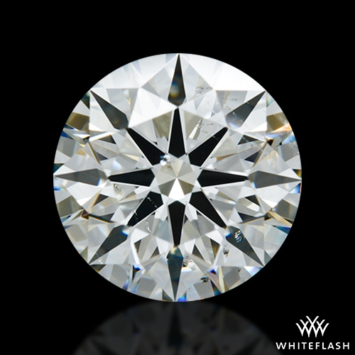 2.058 ct J SI1 A CUT ABOVE® Hearts and Arrows Super Ideal Round Cut Loose Diamond