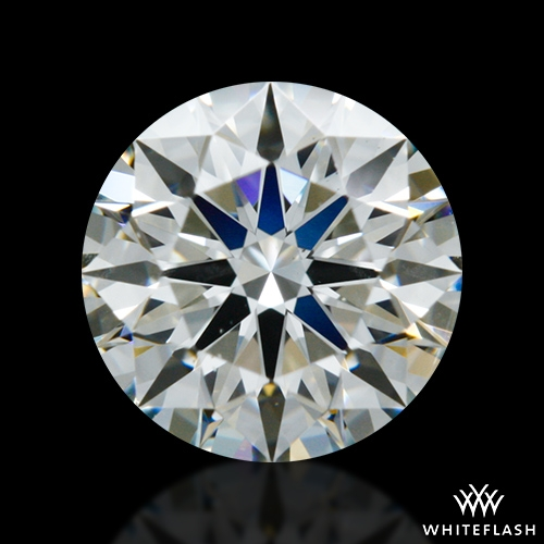 0.601 ct I SI1 A CUT ABOVE® Hearts and Arrows Super Ideal Round Cut Loose Diamond