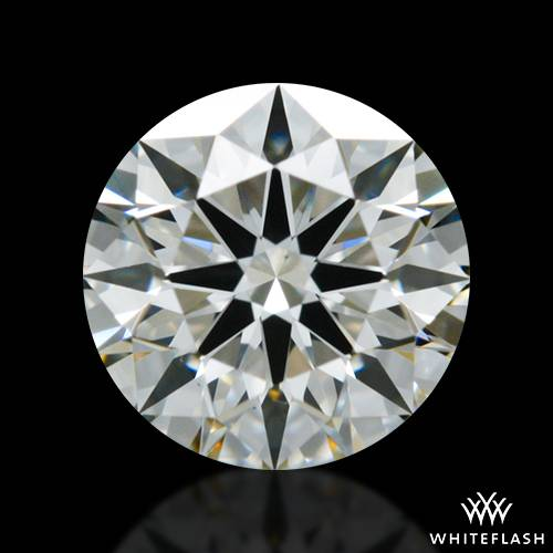 0.606 ct J VS1 A CUT ABOVE® Hearts and Arrows Super Ideal Round Cut Loose Diamond