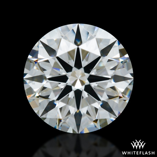 0.611 ct G VS1 A CUT ABOVE® Hearts and Arrows Super Ideal Round Cut Loose Diamond