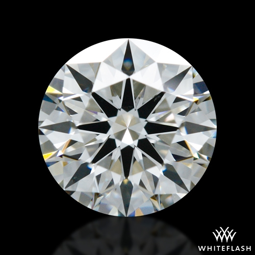 0.617 ct H VS2 A CUT ABOVE® Hearts and Arrows Super Ideal Round Cut Loose Diamond