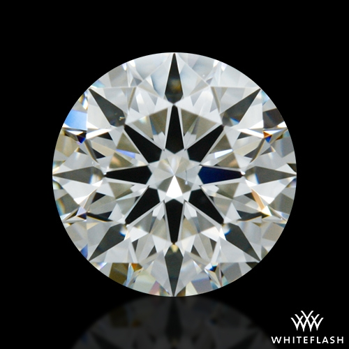 0.637 ct I VS2 A CUT ABOVE® Hearts and Arrows Super Ideal Round Cut Loose Diamond
