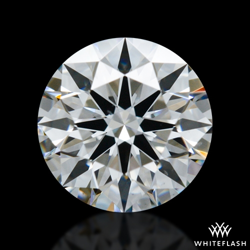 0.663 ct F VS2 A CUT ABOVE® Hearts and Arrows Super Ideal Round Cut Loose Diamond