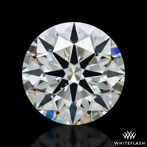 1.002 ct H VS2 A CUT ABOVE® Hearts and Arrows Super Ideal Round Cut Loose Diamond