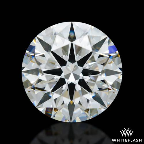 1.111 ct F VS2 A CUT ABOVE® Hearts and Arrows Super Ideal Round Cut Loose Diamond