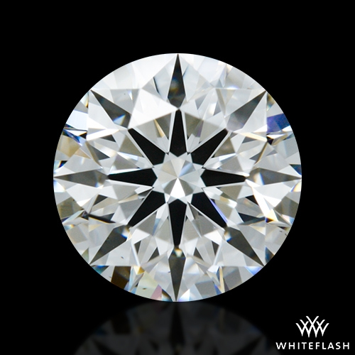 1.29 ct E VS1 A CUT ABOVE® Hearts and Arrows Super Ideal Round Cut Loose Diamond
