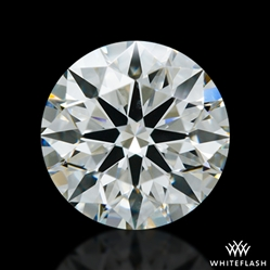 0.891 ct H VS2 A CUT ABOVE® Hearts and Arrows Super Ideal Round Cut Loose Diamond
