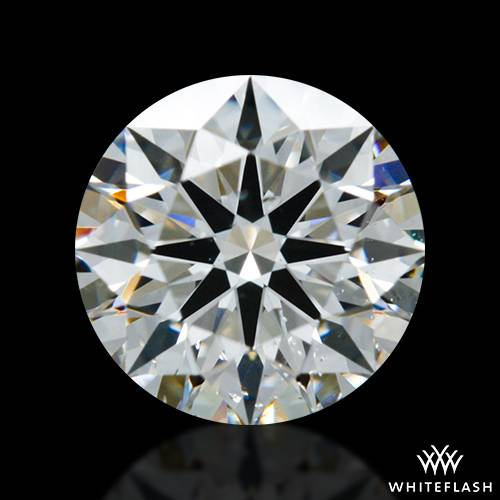 0.822 ct G SI1 A CUT ABOVE® Hearts and Arrows Super Ideal Round Cut Loose Diamond