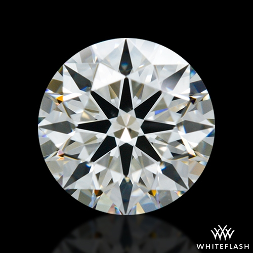 0.884 ct H VS2 A CUT ABOVE® Hearts and Arrows Super Ideal Round Cut Loose Diamond