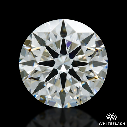 0.823 ct H VS2 A CUT ABOVE® Hearts and Arrows Super Ideal Round Cut Loose Diamond