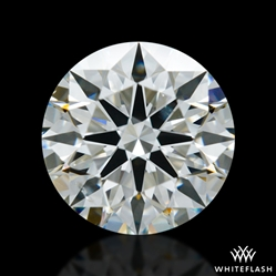 0.853 ct I SI1 A CUT ABOVE® Hearts and Arrows Super Ideal Round Cut Loose Diamond