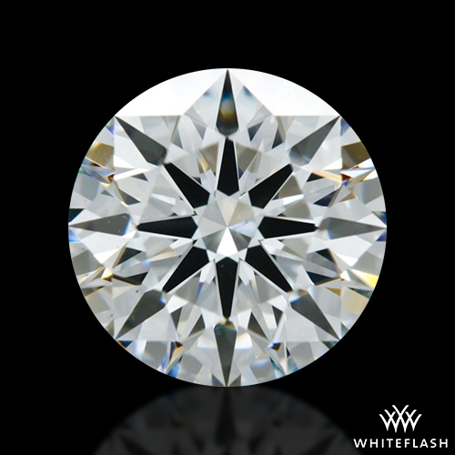 1.533 ct H VS2 A CUT ABOVE® Hearts and Arrows Super Ideal Round Cut Loose Diamond